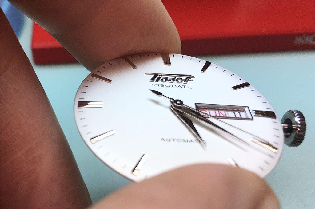 ремонт часов Tissot Visodate