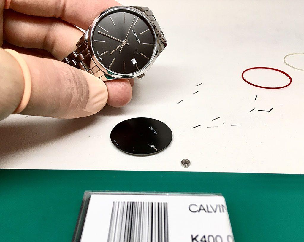 ремонт часов Calvin Klein